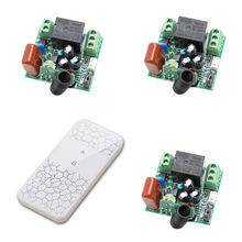 AC 220V RF Wireless Remote Control Switch System 1CH 1 CH 10A Lighting Lamp ON/OFF Wireless Power Switch 315Mhz/433Mhz