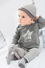 2017 Retail 3PCS hat +T-shirt + pants Baby Clothing Sets baby rompers sports suits baby girl boy pajamas children's set(China)