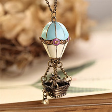 vintage statement jewelry womens clothing accessories necklaces & pendants,long rope air balloon pendant women necklace collares
