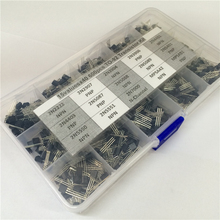 15Values x40 600pcs TO-92 Transistor Assortment Assorted Kit 2N2222 2N3904 2N3906 2N5088 2N5089 2N7000 MPSA42 MPSA92 etc