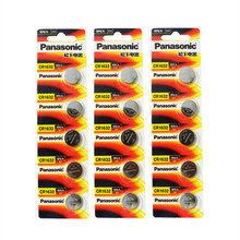15 x Panasonic CR1632 Button Cell Coin Batteries CR1632 Car Remote Control Electric Alarm 3V Lithium Battery(China)