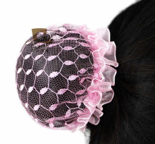 NEW girls Hair Bun Cover Snood Hair Net Ballet Dance Skating Women Hairnets 20PCS mix color