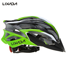 Lixada Ultralight EPS Cycling Helmet Outdoor Men Women Bicycle Helmets With Visor Skating Climbing Motor Helmet Casco Ciclismo