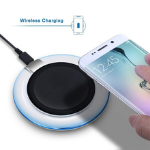 Qi Wireless Charger Dock Charging Pad Mobile Phone Adapter Wirless Charge Cell for Samsung Galaxy S7 S6 edge Note 4 5