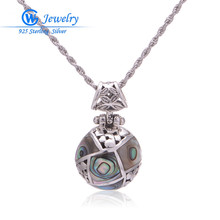 pendant real 925 sterling silver pendant tibetan amulets Aliexpress wholesale necklace collar GW Fashion Jewelry PET496H20
