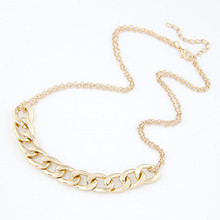 kymyad Fashion Metal Alloy Choker Collar Necklace Women Cheap Jewelry Body Chain Circular Necklaces & Pendants For Women