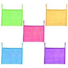 Baby Kids Bath Bathtub Toy Mesh Net Container Bag Organizer Holder Bathroom