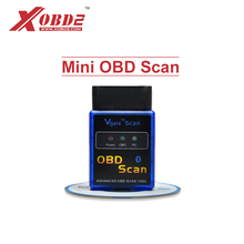 V2.1 Vgate Bluetooth Version Mini OBD Scan OBD2 Diagnostic Adapter ELM327 Auto Code Reader for Android/ PC(China)