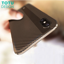 Buy TOTU Luxury Phone Case iPhone X Coque TPU &PC Ultra Thin Carbon Fiber Back Shell Slim Cover Case iPhoneX Fundas Capinha for $6.49 in AliExpress store
