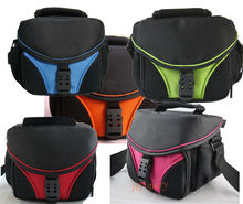 Camera bag case For DSLR Camera / Camcorder DV Nikon Sony Canon Pentax Fuji JVC Red Green Blue bags