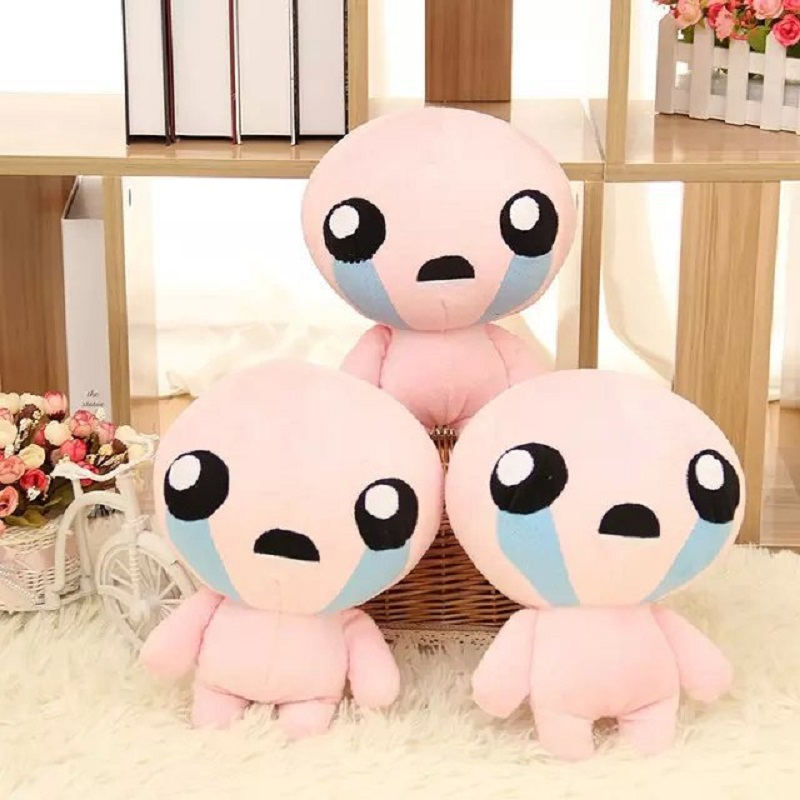 The Binding Of Isaac Soft Plush Toy Doll ISSAC Pillow 30CM PP Cotton Gifts Kids Christmas Gifts<br><br>Aliexpress