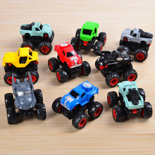 High Quality Removable Shell 4WD High Speed Climb Inertial Small Monster SUVS Car Big Skeleton Rubber Tire Vehicle Kids Toys