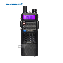 BaoFeng Walkie Talkie 10km BF-UV5R Camouflage CB Radio Comunicador 136-174 / 400-520 Mhz Dual Band With 3800 mAh Li-ion Battery(China)