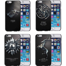 Jon snow new games of thrones targaryen Style Families Flag Hard Phone Case Cover For iPhone 7 Plus 6S 6 Plus 5S 5 SE