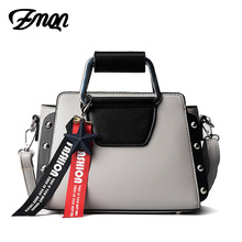 ZMQN Women Bags Fashion Tassel Crossbody Bags Small Brand Luxury Handbags For Womens Ladies Rivets Color Manufacturers Wholesale