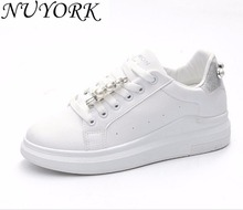 New listing hot sales Spring and Autumn sports shoes women running shoes sneakers Small white shoes 513(China)