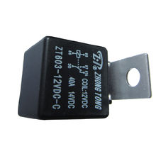 EE support 10 PCS Automotive Truck Alarm 12V 12 Volt DC 40A AMP SPDT Relay 5Pin Car Accessories XY01