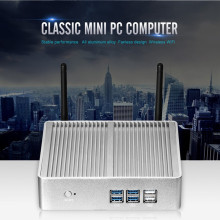 Eglobal Smallest  i3 4005U Intel Nuc Windows 10 Mini PC Micro PC Barebone Computer HD 4400 Graphics HTPC 300M Wifi VGA HDMI