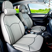 Quality Cover Seats For Audi A1 Accessories Cars Full Set Car Seat Durable PU Leather Coverssupports Cushions