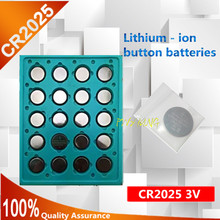 High quality new 50pcs* 2025 CR2025 3V Coin Cell Battery For Watch Toy Calculator Headphone