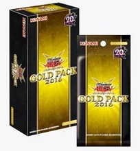 Original YUGIOH Game Card Deck Japanese GOLD PACK 2016 GP16 Collection Cards for Fans Holiday Gift