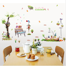 Park Stickers Wall Sticker Wall Art Home Decoration Accessories Bedroom Decor Wall Stickers Home Decor Living Room(China)