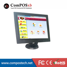 Free shipping 12 inch touch screen display/pos terminal stand for retail shop