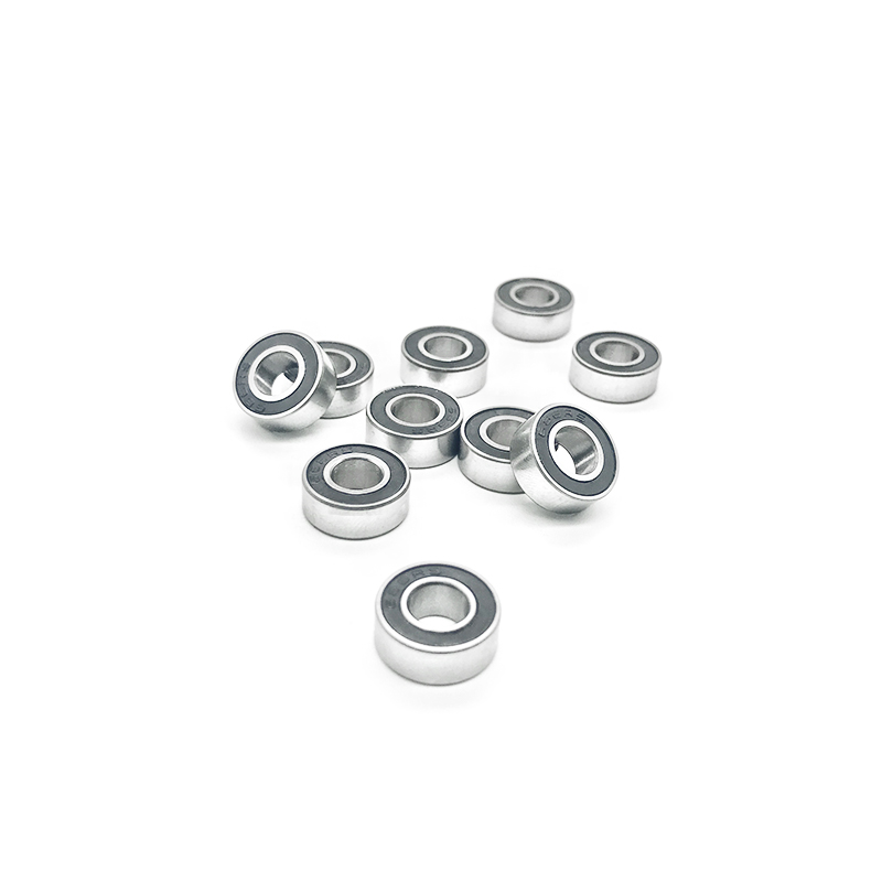 AT Bearing 6x13x5mm RS chrome steel rubber sealed 1pc 686-2rs