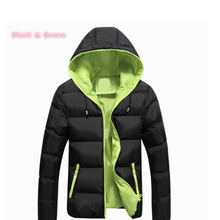 Unisex Men Winter Jacket 2017 Brand Casual Mens Jackets And Coats Thick Warm Cotton-Padded Jacket Men Outerwear Coat Plus Size