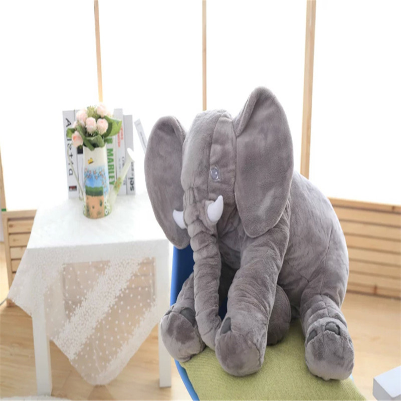 5Color Elephant Soft Automotive Baby Sleep Pillow Baby Crib Foldable Baby Bed Car Seat Cushion Kids Portable Bedroom Bedding Set<br>
