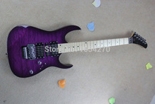 free shipping Brand new arrival 2015 guitar kramer 5150 EVH series ARI tremolo purple Electric guitar  150717