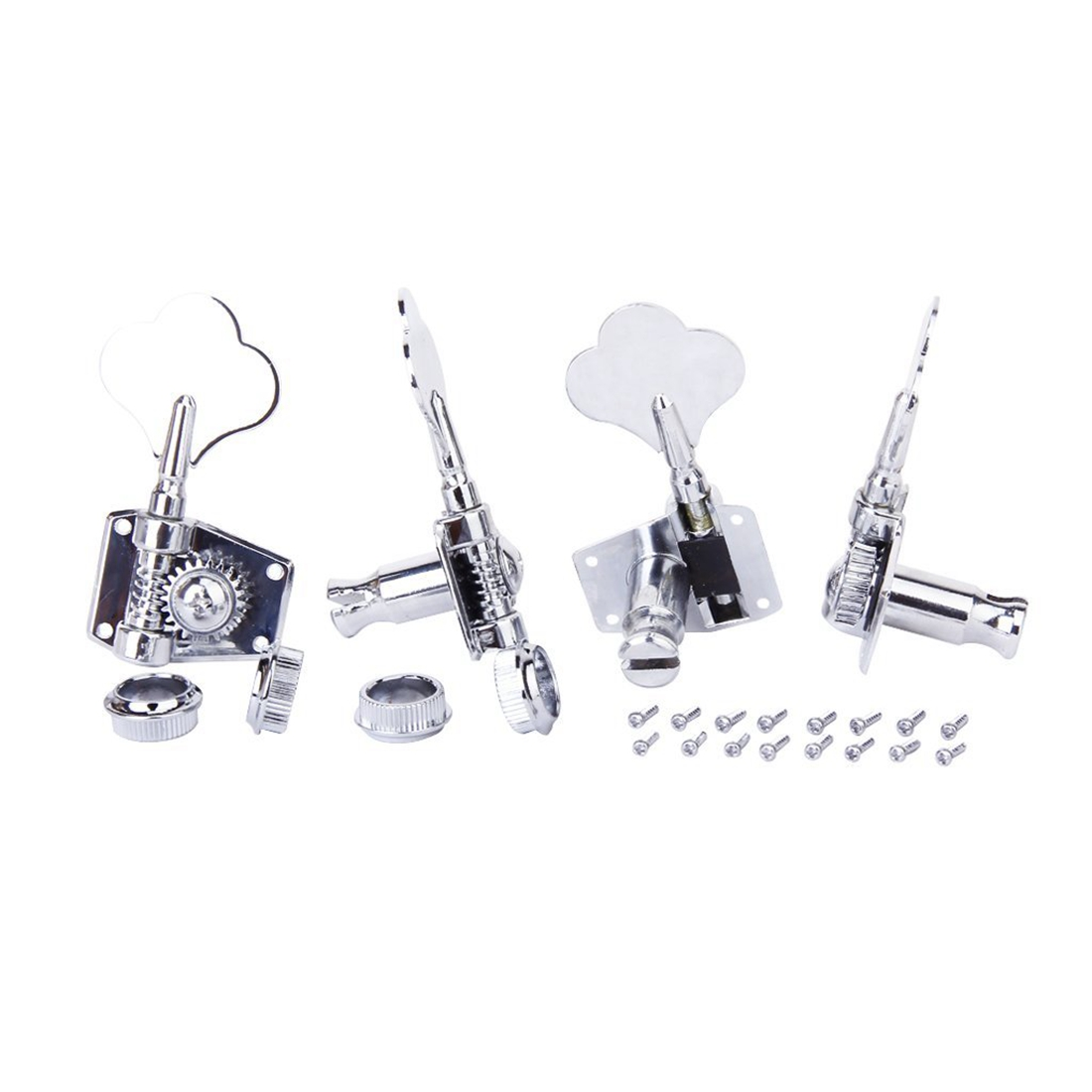 5X 4 PCS String Tuning Pegs Machine Heads for Electric Bass 4R<br>