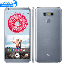 "Original Unlocked LG G6 H870DS Quad Core 4G LTE Android Dual Sim 4GB RAM 32GB ROM 5.7"" Dual 13MP Mobile Phone(China)"