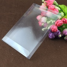 50pcs 3*20*20cm clear plastic pvc box packing boxes for gifts/chocolate/candy/cosmetic/crafts square transparent pvc Box