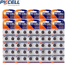 10Pack/100Pcs G13 Batteries PKCELL 1.5V AG13 357A A76 303 LR44 SR44SW SP76 L1154 RW82 RW42 Alkaline Cell Button Battery