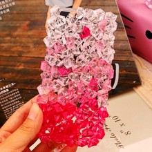 Lady Design Diamond Summer ice Crystal Clear Case for Meizu Meilan Note3 Note5 E2 Meilan3 Meilan5 Shiny Case