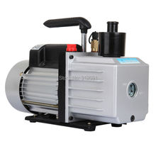 (Ship from US ) Electric 9CFM Rotary Vane Deep HVAC Air Conditioning Refrigeration Vacuum Pump 3/4HP(China)
