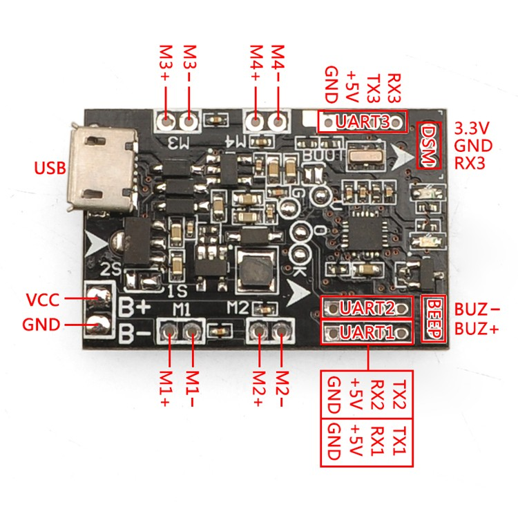 SP-RACING-F3-EVO-Brush-Flight-Controller-Control-Board-For-Tiny-90mm-120mm-125-mm-FPV