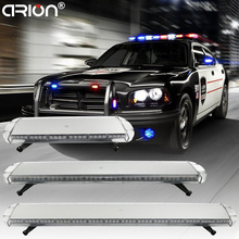 "CIRION Multi Size 30"" 47"" 55"" 63"" Led strobe light bar Car Roof Police warning flash Fireman Emergency working Lamp Lights(China)"