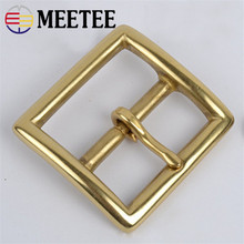 2pcs Manufacturers selling men's copper belt buckle on buckle belt type belt buckle scalp Mens wholesale(China)