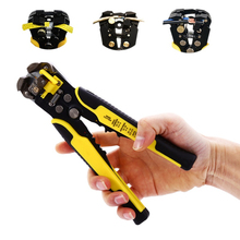 Automatic Wire Stripper Multifunctional Plier Wire Cutter Self Adjusting Crimper Cable Stripping Terminal Carbon Steel Hand Tool(China)