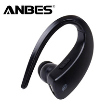 ANBES Bluetooth 4.1 Earphone Stereo Music Headphones Business Voice Control Wireless Handsfree Headset for iPad iPhone Samsung