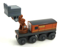 Wooden Thomas Train T086W MARION Thomas And Friends Trackmaster Magnetic Tomas Truck Car Locomotive Engine Railway Toys for Boys(China)