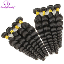 Malaysian 6A Virgin Hair Loose Wave 8 pcs Whole Sale 8 Bundles Human Hair Loose Wave Style Unprocessed Human Hair Extension Wavy