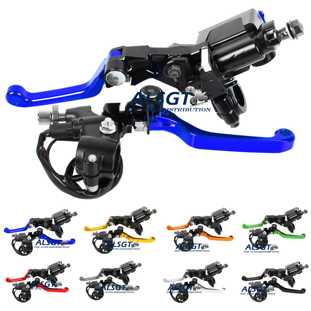 CNC Motorcycle 7/8 Brake Master Cylinder Reservoir Lever Dirt Bike For Yamaha YZ426F/450F 2001-2007 YZ125/250 2008-2014<br><br>Aliexpress