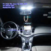 Car LED Parking Interior Light Kit in Xenon white for Dodge Ram Quad Cap 2009 2010 2011 2012  Reading Rear bulbs