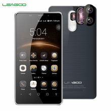 LEAGOO M8 Pro 4G Smartphone Android 6.0 2G RAM 16GB ROM MT6737 Quad Core 5.7 Inch 3500mAh 13.0MP Dual Rear Camera Mobile Phone(China)