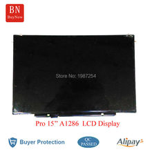 Genuine 15.4'' High Resolution 1680* 1050 LED LCD Screen For Macbook Pro 15.4'' A1286 Matte LCD Screen Display LP154WE3-TLB1(China)