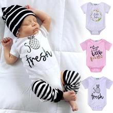 Summer infant baby romper baby boys girls clothes set cotton baby romper coveralls kids clothes D3-26B