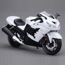 Freeshipping Maisto Kawasaki Ninja ZX-14R 1:12 Motorcycles Diecast Metal Sport Bike Model Toy New in Box For Kids